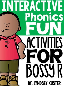 Interactive Phonics Fun {Bossy R}