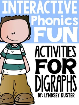 Interactive Phonics Fun {Digraphs: ch, ph, sh, wh, th}