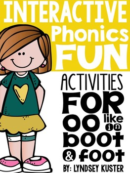 Interactive Phonics Fun {Double OO}