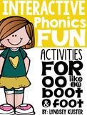Interactive Phonics Fun {Double OO}