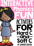 Interactive Phonics Fun {Hard C and Soft C}