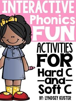 Interactive Phonics Fun {Hard C and Soft C}