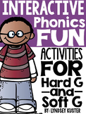 Interactive Phonics Fun {Hard G and Soft G}