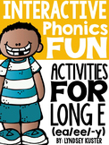 Interactive Phonics Fun {Long E Spelled ea/ee/-y}
