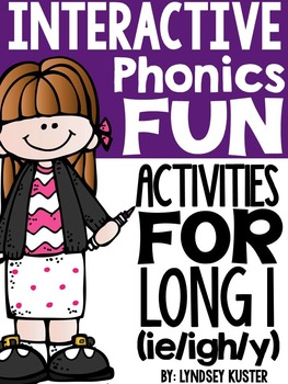 Interactive Phonics Fun {Long I Spelled ie/igh/y}