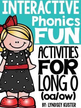 Interactive Phonics Fun {Long O Spelled Oa/Ow}