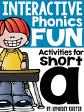 Interactive Phonics Fun {Short A Packet}