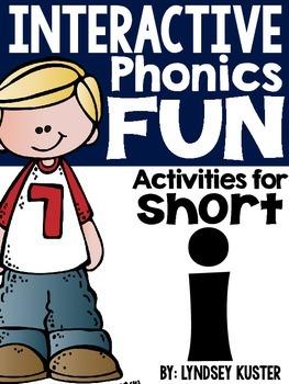Interactive Phonics Fun {Short I Packet}