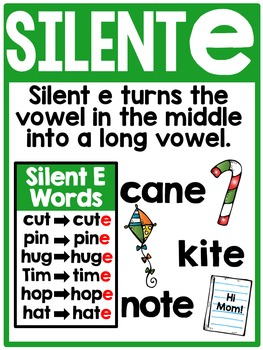 Interactive Phonics Fun {Silent E}