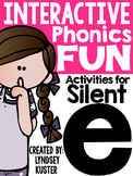 Interactive Phonics Fun {Silent E}