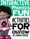 Interactive Phonics Fun {au and aw}