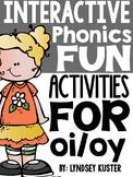 Interactive Phonics Fun {oi and oy}