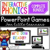 Phonics Games Interactive Digital Bundle Distance Learning