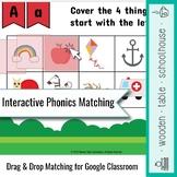 Interactive Phonics Matching for Google Classroom