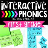 Interactive Phonics Notebook First Grade