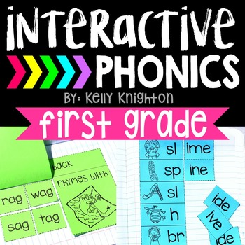 Interactive Phonics Notebook First Grade