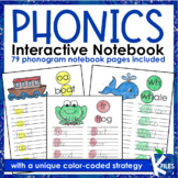 Interactive Phonics Notebook