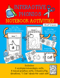 Interactive Phonics Notebook-Short Vowels and CVC Words