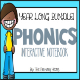 Interactive Phonics Notebook Word Work YEAR LONG BUNDLE