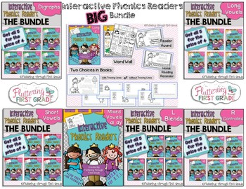 Phonics Readers  ~ BIG BUNDLE