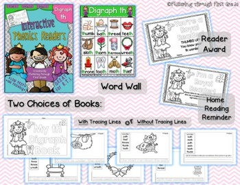 Digraph -TH Phonics Readers