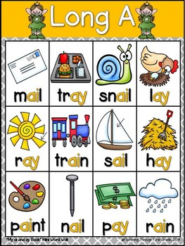 Long A AI/AY Phonics Readers