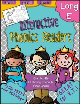 Long E Phonics Readers