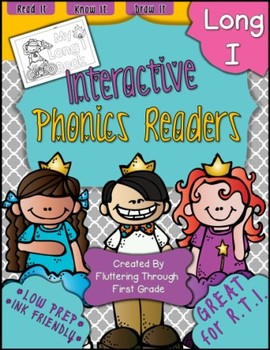 Long I Phonics Readers