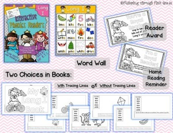 Long Vowels Phonics Readers  ~ BUNDLE