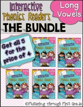 Long Vowels Phonics Readers  ~ BUNDLE