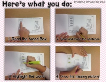 R Controlled Vowels -OR Phonics Readers