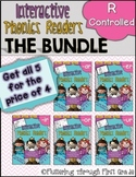 R Controlled Vowels Phonics Readers  ~ BUNDLE