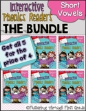 Short Vowels Phonics Readers  ~  BUNDLE