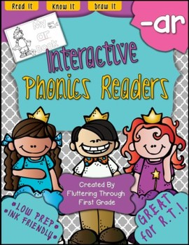 R Controlled Vowels -AR Phonics Readers