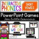 Interactive Phonics ~ Short Vowels