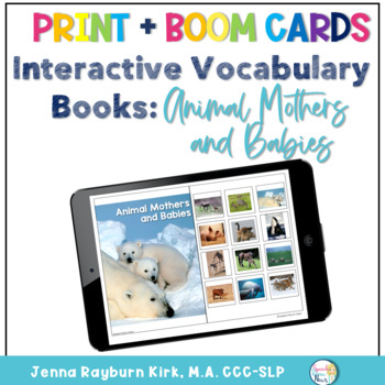 Interactive Photo Books: Animal Mothers and Babies