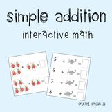 Interactive Picture Addition Binder