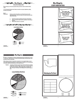 Pie Charts and Circle Graphs Interactive Notebook Unit