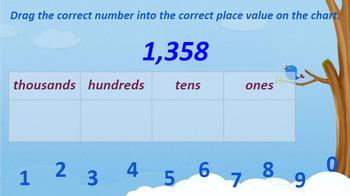 Google Classroom- Math Centers: Interactive Place Value Activities