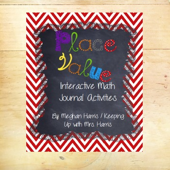 Interactive Place Value Math Journal Activities