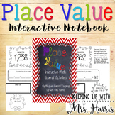 Interactive Place Value Math Journal Activities