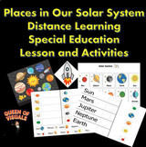 Interactive Places in Our Solar System Special Education G