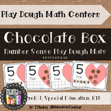 Interactive Play Dough Math Centers: Differentiated Valentine Chocolate Boxes