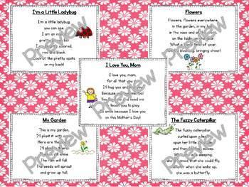 Interactive Pocket Chart {Poem Builder} BUNDLE - May