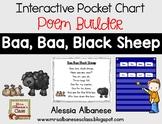 Interactive Pocket Chart {Poem Builder} - Baa, Baa, Black Sheep