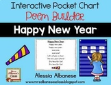 Interactive Pocket Chart {Poem Builder} - Happy New Year