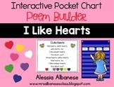 Interactive Pocket Chart {Poem Builder} - I Like Hearts