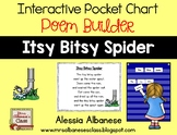 Interactive Pocket Chart {Poem Builder} - Itsy Bitsy Spider