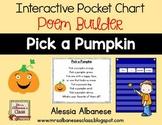 Interactive Pocket Chart {Poem Builder} - Pick a Pumpkin