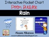 Interactive Pocket Chart {Poem Builder} - Rain